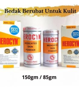 Bedak Herocyn / Gatal dan Biang Keringat