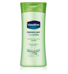 Vaseline Intensive Care Aloe Soothe Hand & Body Lotion