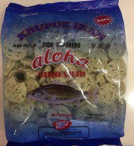 Aloha Kerupuk Ikan Palembang Kecil Mentah