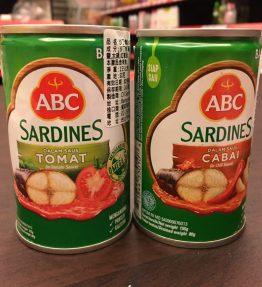 Ikan Sarden ABC Kaleng