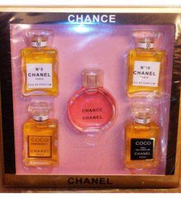 Parfum Tahan Lama Chanel 5in1 Set