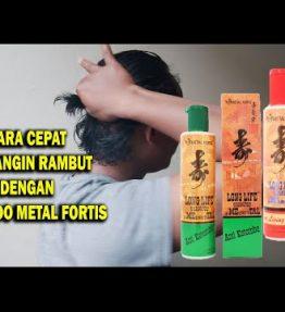 Metal Shampoo Fortis Long Life Percepat Panjang Rambut