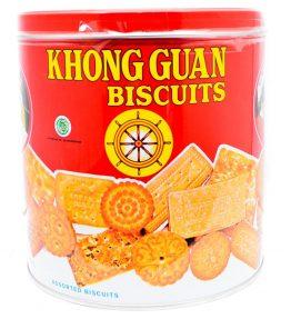 Khong Guan Biscuits Kaleng Besar 650 Gram