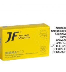 Sabun JF Sulfur Dermamed Melawan Kuman Penyebab Gatal