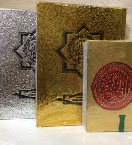 Buku Al Quran Silver / Emas Terjemahan Indonesia