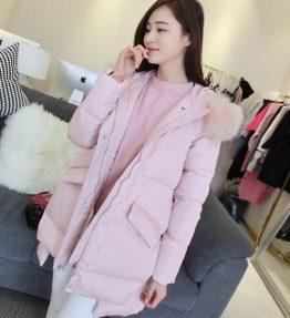 Jaket Tebal Pink