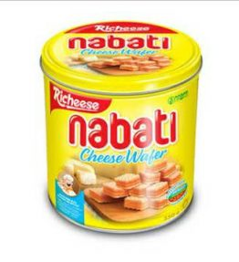 Richeese Nabati Wafer Keju Cheese