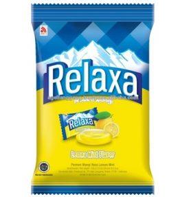 Permen Relaxa Rasa lemon Mint