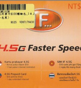 SIM Kartu Telepon IF 4G