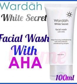 Sabun Wajah Wardah White Secret Facial Wash AHA