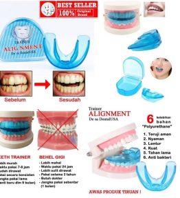 Behel Gigi / Merapikan Gigi / Teeth Trainer Alignment