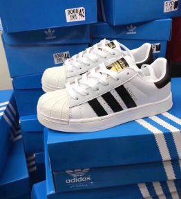Sepatu Kets Kasual Superstar Adidas