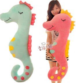 Boneka Kuda Laut Pink 1.2 Meter