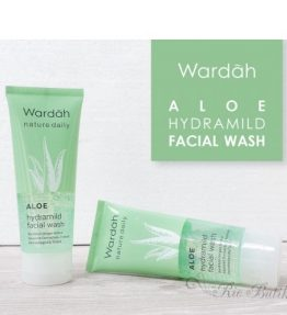 Wardah Aloe Hydramild Facial Wash