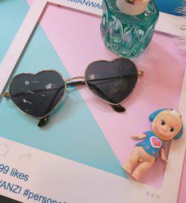 Kacamata Fasian Anti UV Bentuk Hati