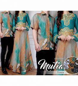 Baju Couple Batik / Baju Pasangan Batik Mutia