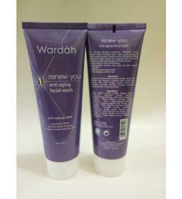 Sabun Wajah Wardah Renew You Anti Aging Facial Wash