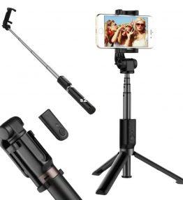 Tongsis Tongkost Selfie 3in1 Tripod Bluetooth