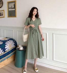 Baju Terusan / Dress Hijau
