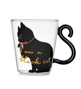 Gelas / Cangkir Beling Kucing