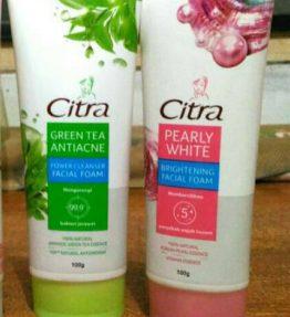 Citra Facial Foam / Sabun Cuci Muka Citra