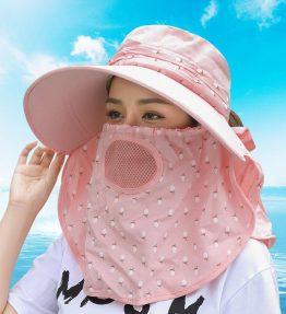 Topi Pelindung Sinar Matahari Wanita