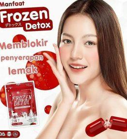 Frozen Detox Slimming Pelangsing Original / Suplemen Diet