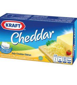 Keju Padat Kraft Cheddar