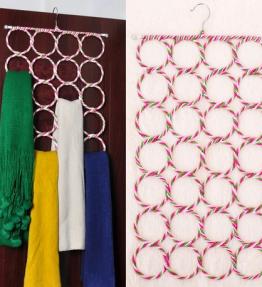 Gantungan Hanger Bulat Syal / Hanger Hijab