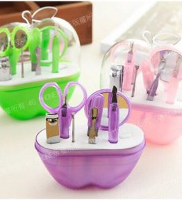 Satu Set Alat Gunting Kuku / Alat Manicure Pedicure 9 Pcs