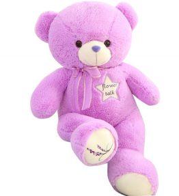 Boneka Beruang Ungu