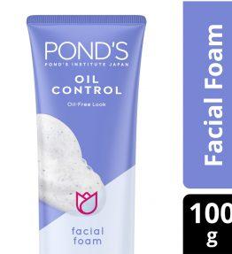 Pond's Oil Control Facial Foam Sabun Cuci Muka