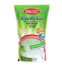 Wong Coco Nata de Coco Rasa Cocopandan