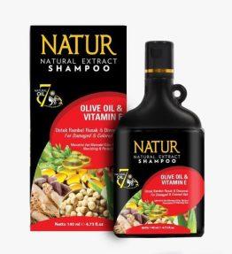 Shampoo Natur Melembutkan Rambut Olive Oil
