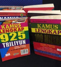 Buku Kamus Lengkap Indonesia-Inggris Inggris-Indonesia