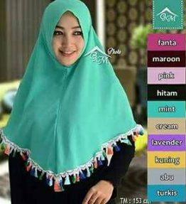 Hijab / Kerudung Syria Tasel