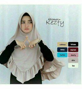 Hijab / Kerudung Khimar kezfy rr