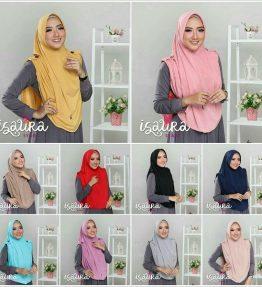Hijab / Kerudung Isaura Syar'i