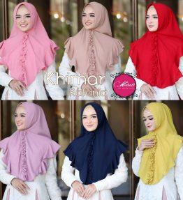 Hijab / Kerudung Instan Khimar Rafania