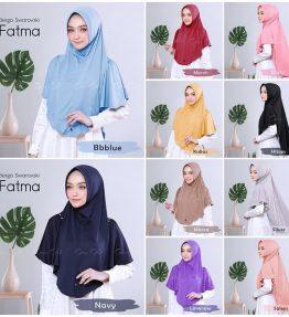 Hijab / Kerudung Bergo Swarovski Fatma