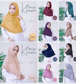 Hijab / Jilbab Instan Bergo Khanza