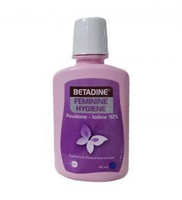 Betadine Feminine Hygiene Untuk Keputihan dan Gatal Gatal