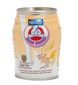 Susu Beruang Gold Malt Putih Nestle Bear Brand