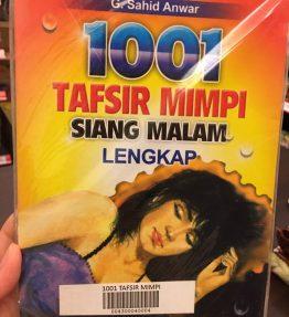 Buku 1001 Tafsir Mimpi Siang Malam Lengkap