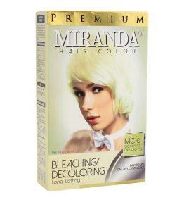 Semir Rambut Miranda Bleaching