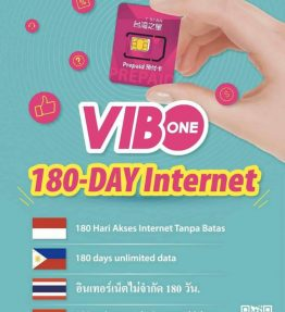 Sim Kartu Telepon VIBO internet 6 Bulan