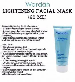 Wardah Lightening Facial Mask