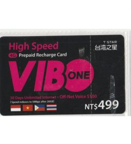 Kartu Pulsa Isi Ulang Vibo Internet 4G 30 day internet + Off-net voice 100NT