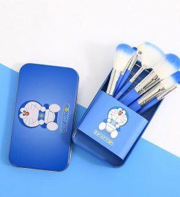 Doraemon Kuas Make Up Set Isi 7
