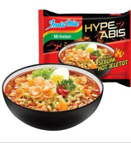 Indomie Mie Kuah Seblak Hot Jeletot